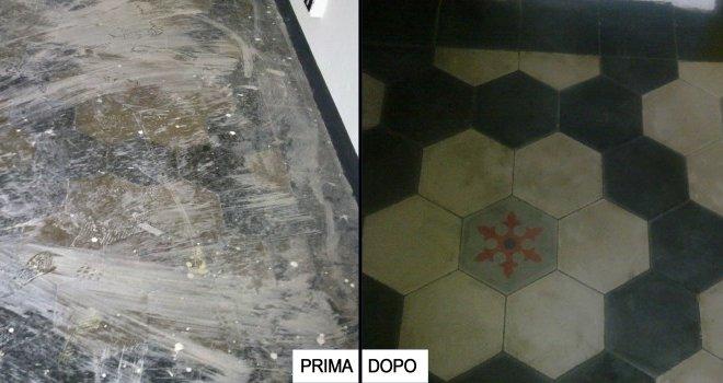 Pulizia professionale pavimento